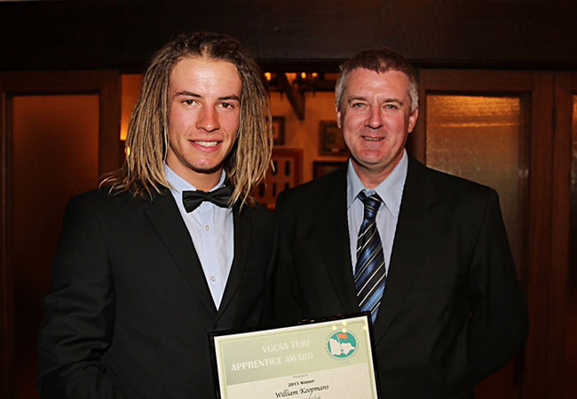 Will is Apprentice of the Year