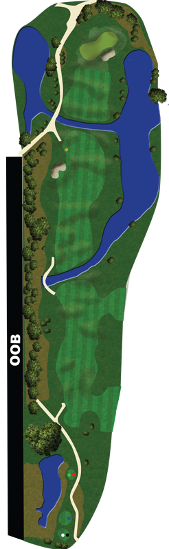 course map hole10a