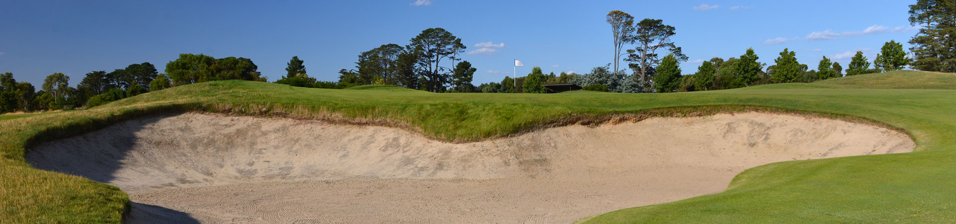 1st Hole Greenside Bunker