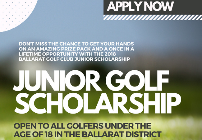 BGC Junior Scholarship