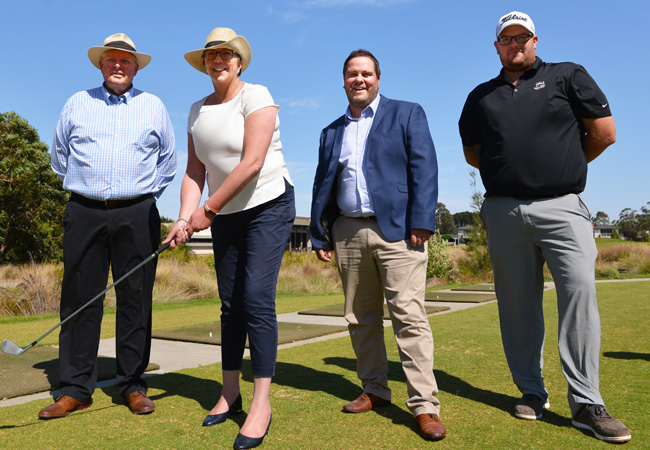 BGC receives $125,000 for Driving Range Facility