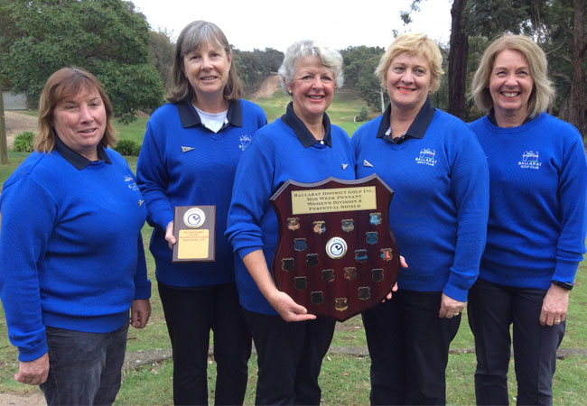BGC Women take Div 2 Pennant Final