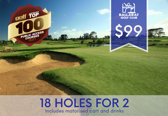 18 Holes for 2 @ $99